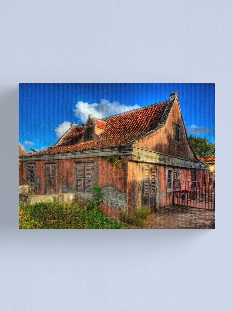 Alternate view of Another Derelict House on Curacao Canvas Print