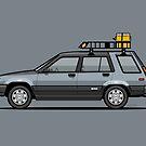 Trevin Howell's Toyota Tercel SR5 4WD Wagon AL25 by Tom Mayer
