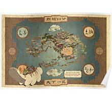 Avatar Map Poster
