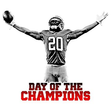 AMERICAN FOOTBALL PLAYER GESTE HALFTONE. DAY OF THE CHAMPION by SUBGIRL