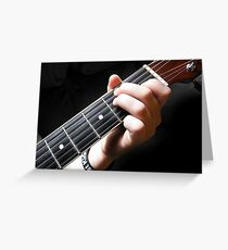 Frets Greeting Card