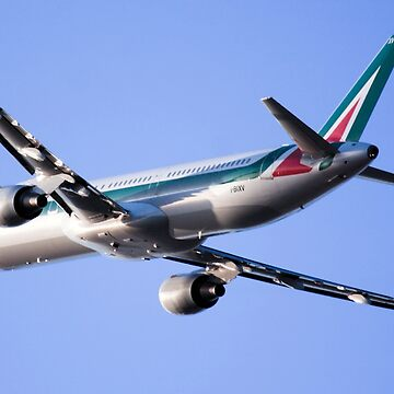 Alitalia commercial flight  by PhotoStock-Isra