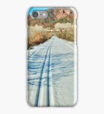 North Through the Jaws of Snowmass Canyon iPhone Case/Skin