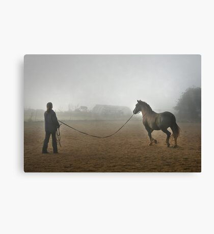 Whatever the weather ... Canvas Print