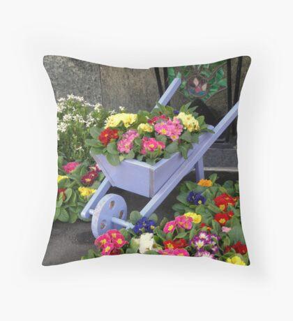 A corner of Spring Throw Pillow