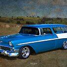 56 Chevy Wagon by Keith Hawley