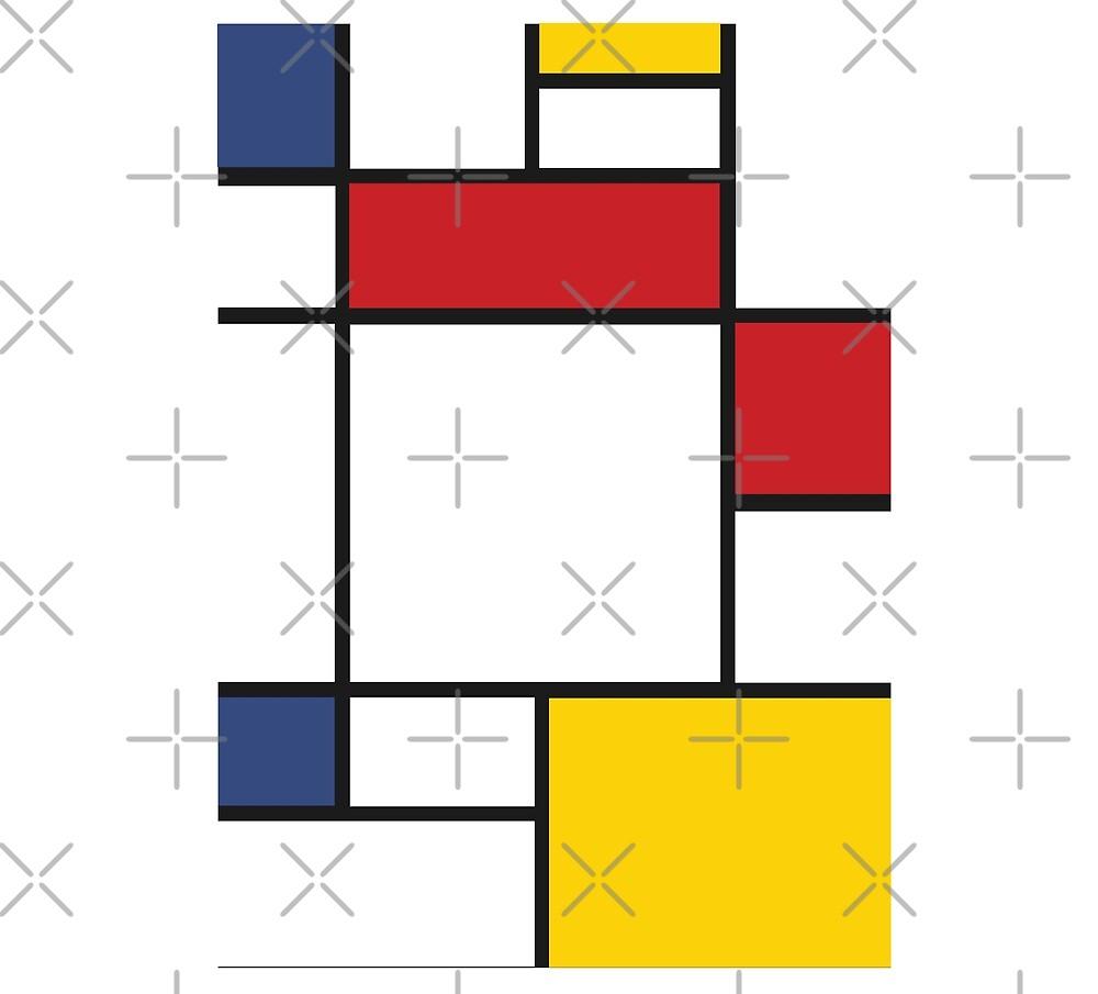 Mondrian by isstgeschichte