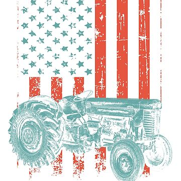Farmer American Flag by 2djazz
