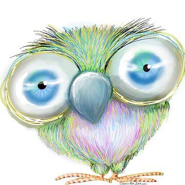 Burt the Big-Eyed Bird by cheriedirksen