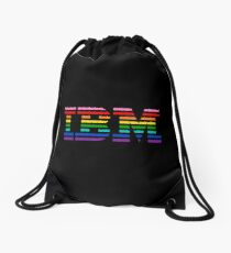 Rainbow IBM merchands Drawstring Bag