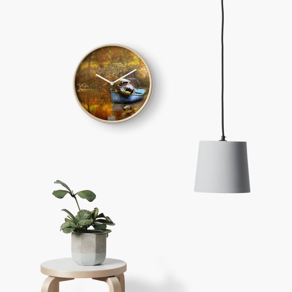 Tier - Fisch - Der Kapitän Uhr