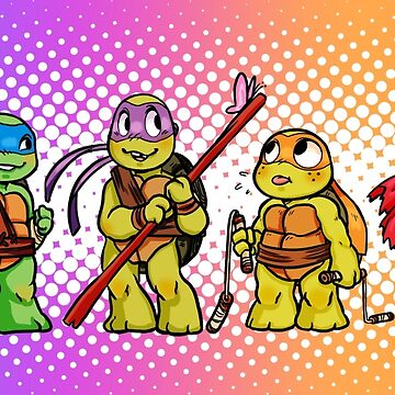 Tiny  Turtles  by noodlesdoodle