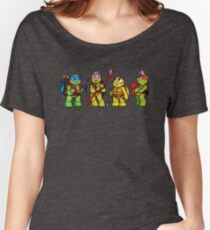 Tiny  Turtles  Women's Relaxed Fit T-Shirt