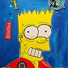 Bart Joins Alien Nation  by Cavier Coleman