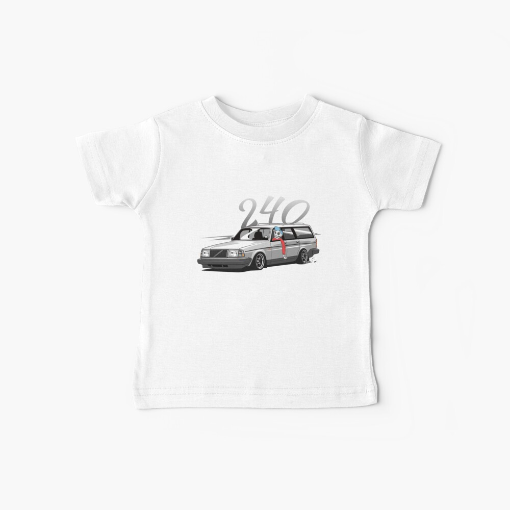 240 Combo Skulldriver Low Style Camiseta para bebés