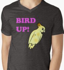 Bird UP Men's V-Neck T-Shirt