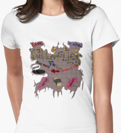 Butterflies and Bullets  T-Shirt
