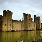 Bodiam Castle , East Sussex. by Billlee