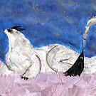 An Arctic, Wingless Dragon by Jennifer Frederick