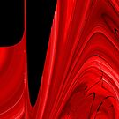 Abstract Red by PPPhotoArt