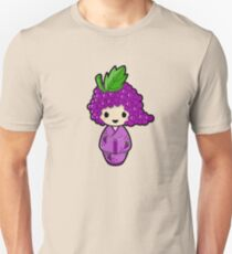 Grape Kokeshi Doll Unisex T-Shirt