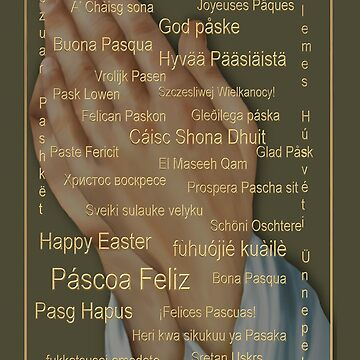 Happy Easter From Around The World (languages) by ArtisticByNature