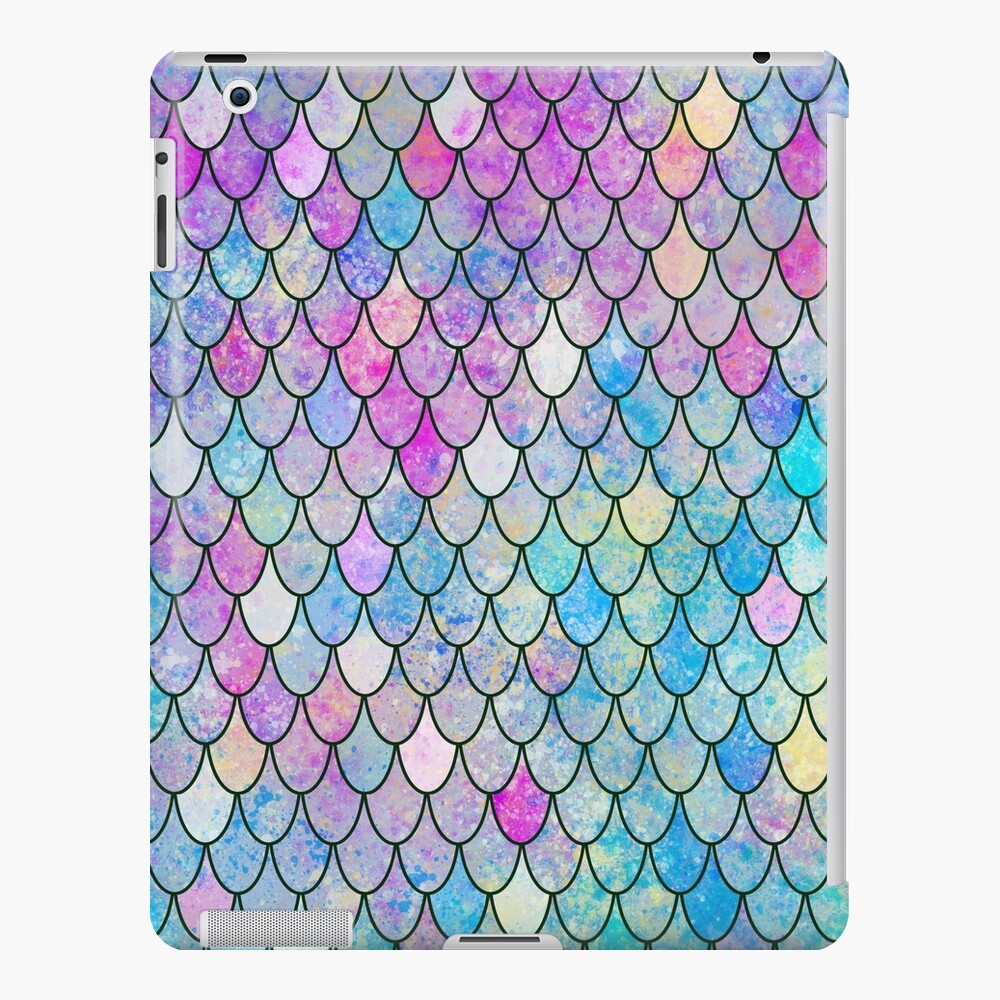 mermaid scales iPad Case & Skin