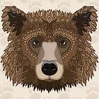 Grizzlybär von artlovepassion