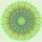 Lime Mandala by Cherie Roe Dirksen