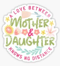 Mother daughter band Sticker