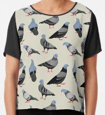 Design 33 - Die Tauben Chiffontop