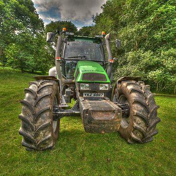 Deutz-Fahr Tractor by jon77lees