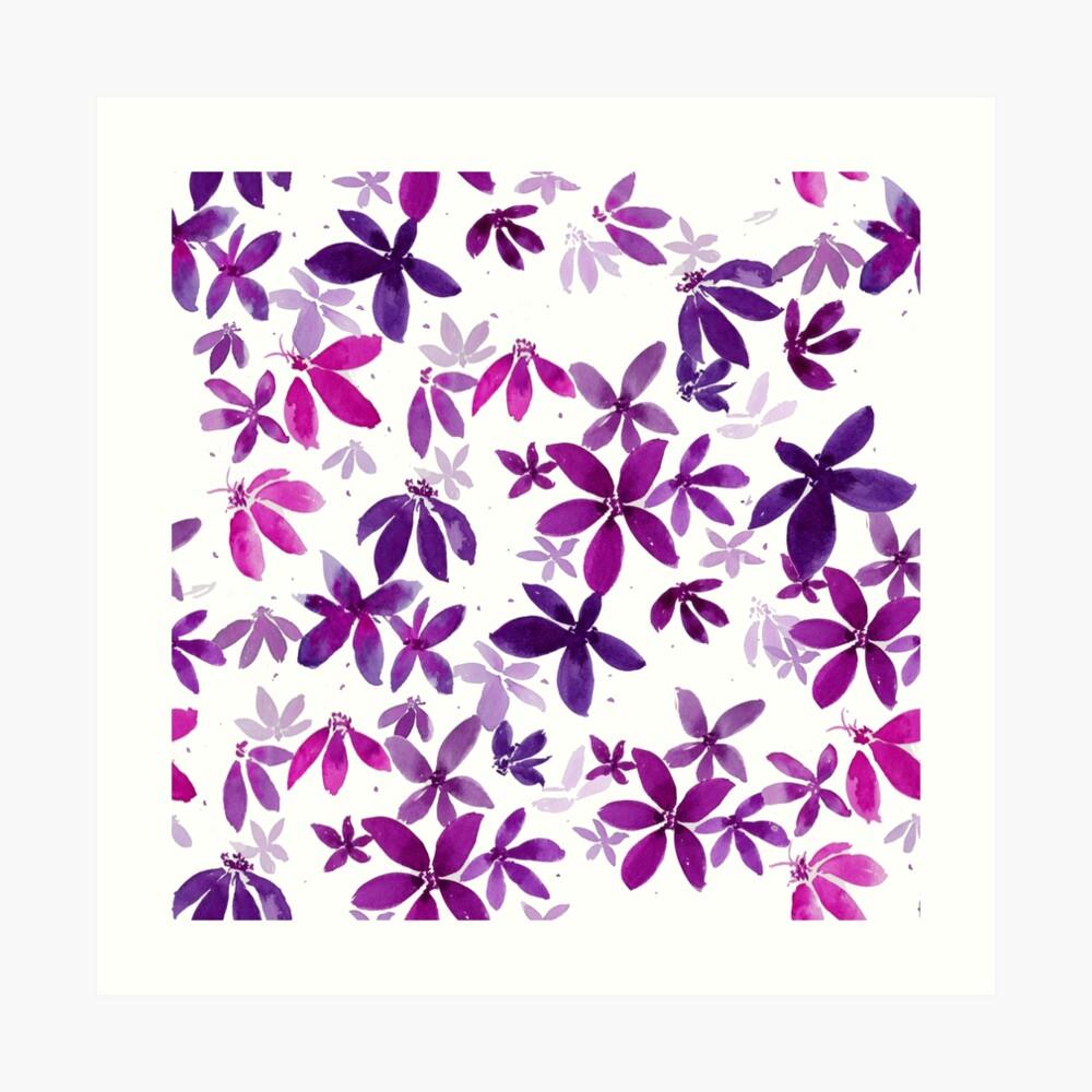 Celeste - Pink Palette  Art Print
