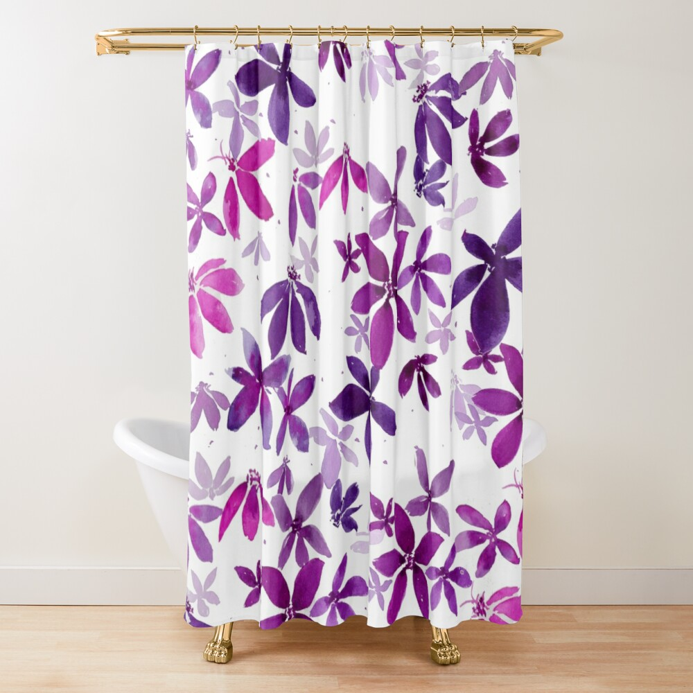 Celeste - Pink Palette  Shower Curtain