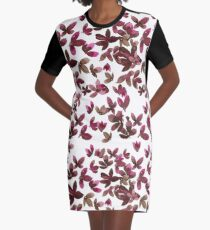 Born to Butterfly - Autumn Palette Graphic T-Shirt Dress