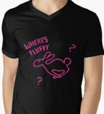 Where's Fluffy Men's V-Neck T-Shirt