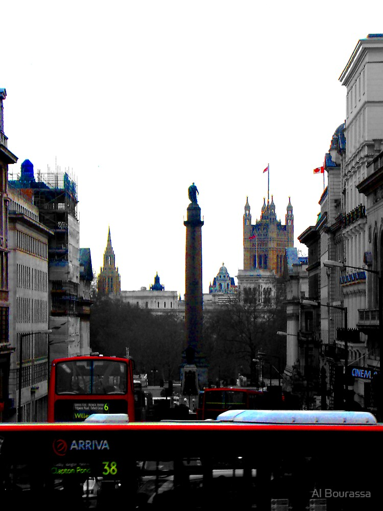 Sights And Sounds Of London by Al Bourassa