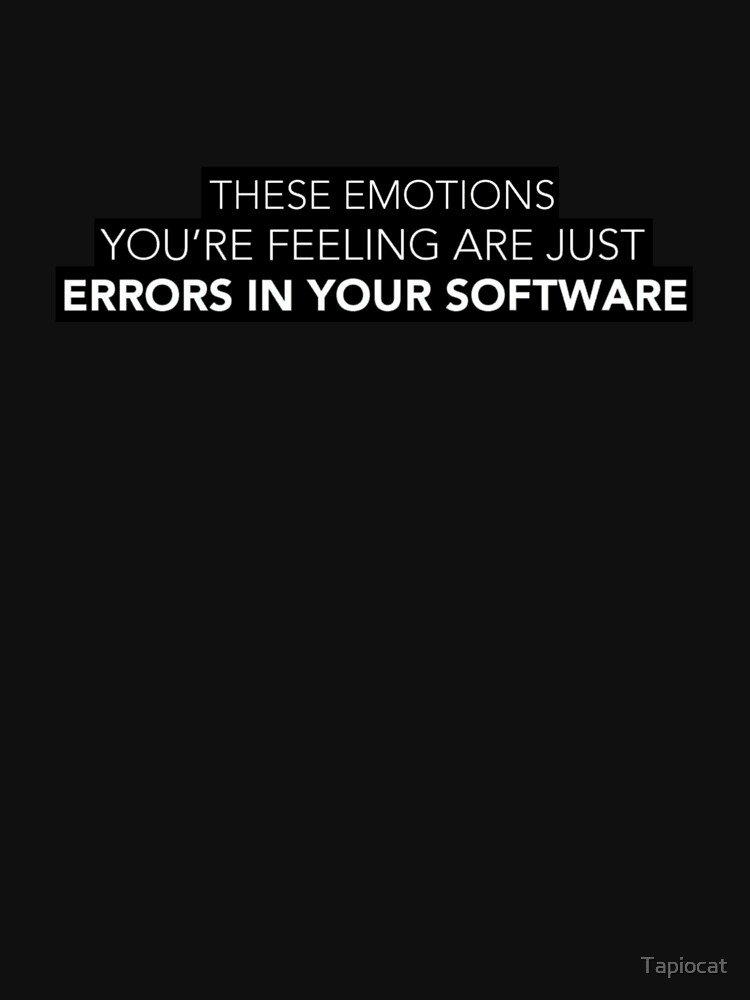 Errors In Your Software - black by Tapiocat