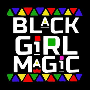 BLACK GIRL MAGIC - MARTIN LETTERS by MelanixStyles