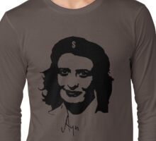 Ayn, revolutionary thinker. Long Sleeve T-Shirt