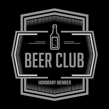 Beer Club Honorary Member by Naumovski