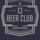 Beer Club Honorary Member by Naumovski