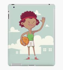 Basket boy iPad Case/Skin