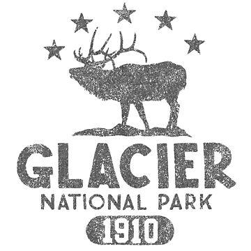 Glacier National Park - Elk by snarkee