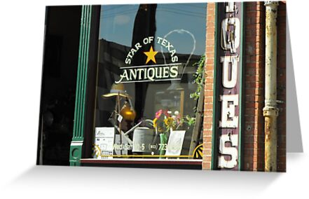 Antique Store in Palestine, Texas by Susan Russell