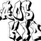 Kaos altes Logo von Lauren Scott