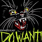 DO WANT BLACK  CAT by resonanteye