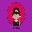 Audrey Hepburn by julianamotzko