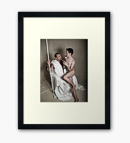 LOA - Zeus & Ganymede Framed Print