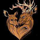 deer love by resonanteye
